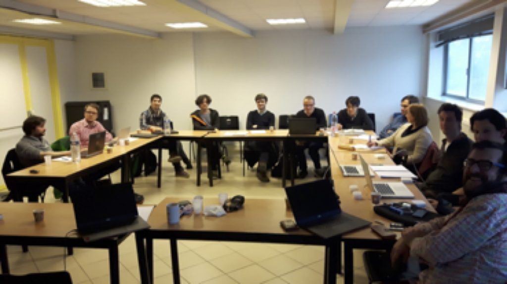 Kickoff meeting for the ANR Swangate project at the IJL, Nancy.
